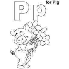Top 10 Free Printable Letter P Coloring Pages Online
