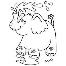 coloring pages of elephants # 5