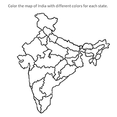 Top 10 Free Printable India Coloring Pages Online