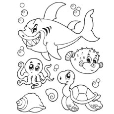 Top 10 Free Printable Octopus Coloring Pages Online