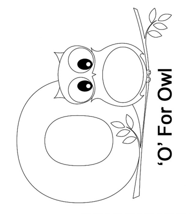 top 10 letter 'o' coloring pages your toddler will love to