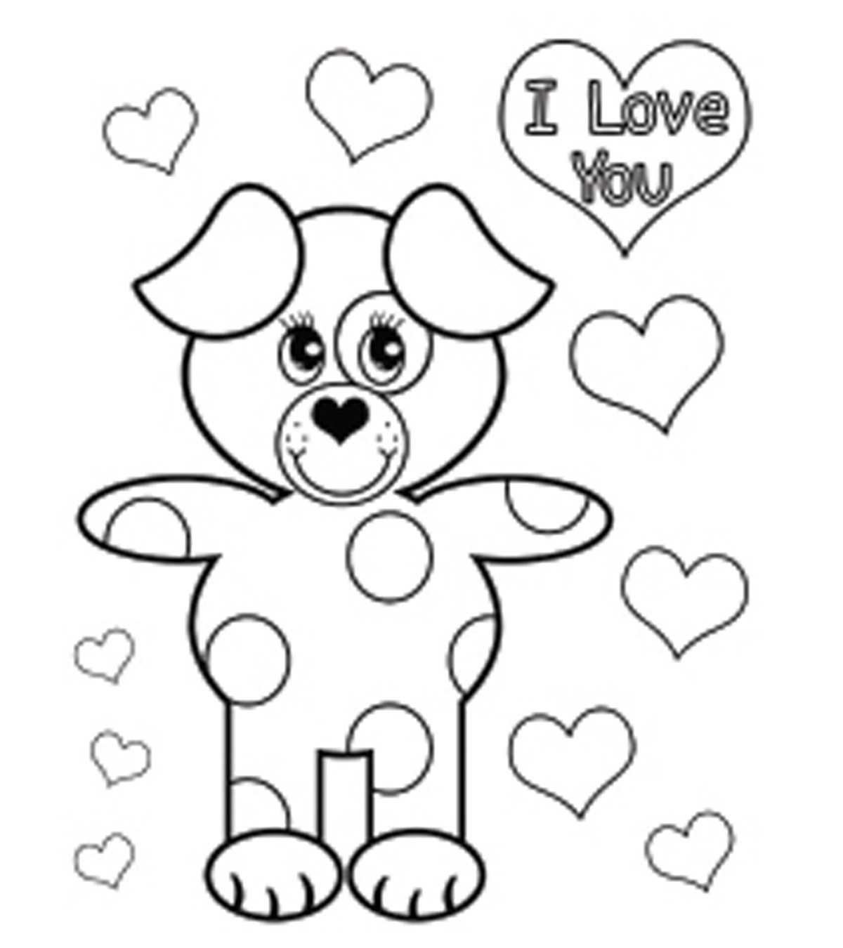 Top 44 Free Printable Valentines Day Coloring Pages Online