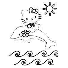 connect the dots coloring pages # 4