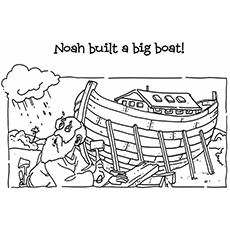 Top 10 Noah And The Ark Coloring Pages Your Toddler Will Love To Color