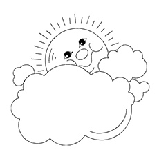 Top 10 Free Printable Weather Coloring Pages Online