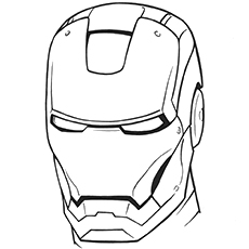 ironman coloring page # 10