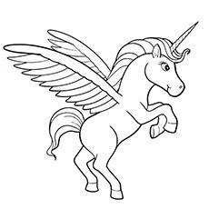 unicorn color pages # 26