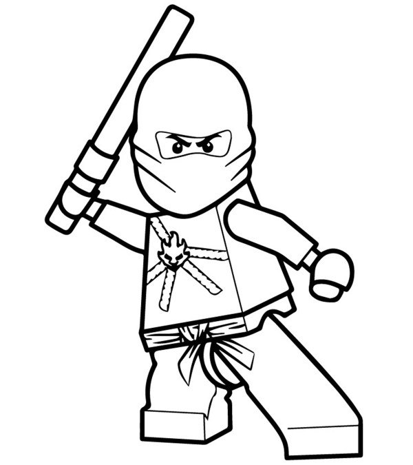 new ninjago coloring pages # 3