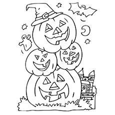 Top 24 Free Printable Pumpkin Coloring Pages Online