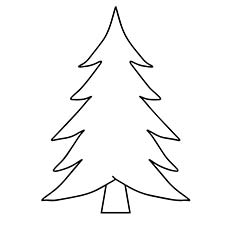 coloring pages of christmas trees # 0