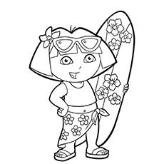 summer coloring pages printable # 10
