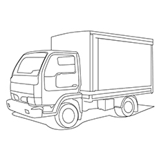 Top 25 Free Printable Truck Coloring Pages Online