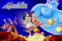 Aladdin And The Magic Lamp Genie