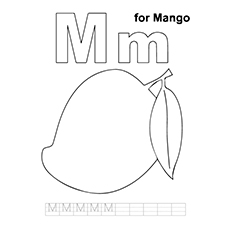 10 Best Free Printable Mango Coloring Pages For Toddlers