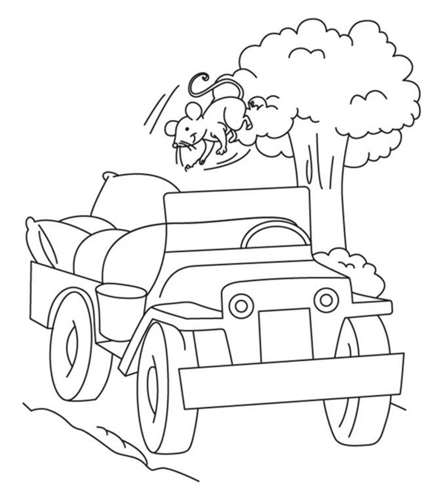 Top 10 Free Printable Jeep Coloring Pages Online