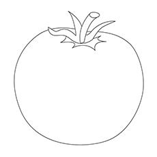Top 10 Tomato Coloring Pages Your Toddler Will Love To Color