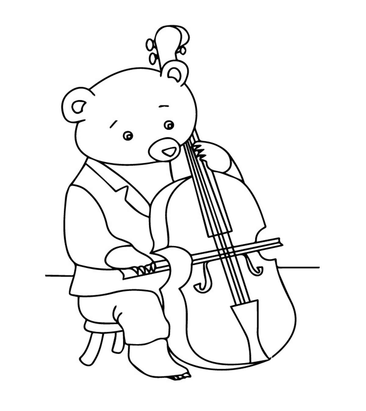 40 Best Collections Violin Drawing With Colour