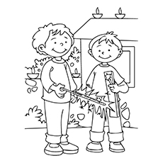 Diwali Coloring Pages For Toddlers
