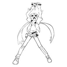 Top Beyblade Burst Turbo Printable Coloring Pages