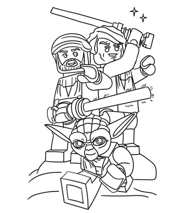 15 Wonderful Lego Movie Coloring Pages For Toddlers
