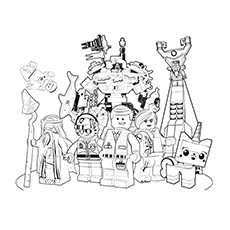 25 Wonderful Lego Movie Coloring Pages For Toddlers
