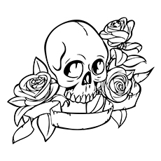 skulls coloring pages # 1