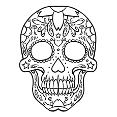 skulls coloring pages # 8
