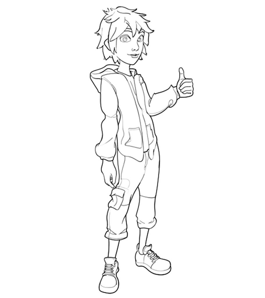 Top 25 Big Hero 6 Coloring Pages