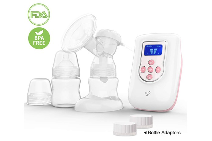BabySteps Independent Double Electric Breast Pump
