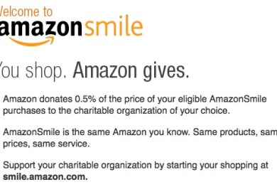 My Amazon Smile Account