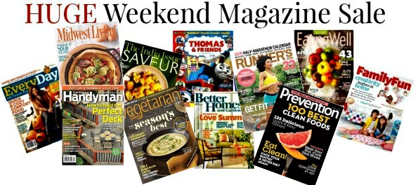 $1 Weekend Magazine Sale