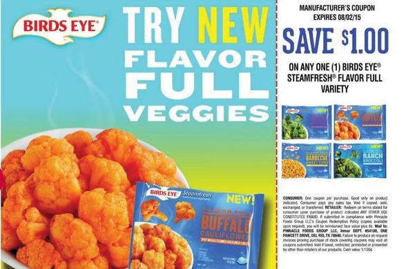 Steamfresh Flavor Full Veggies for just $0.74 at Walmart!