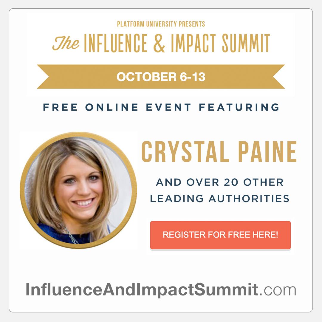 Register for the Free Influence & Impact Summit
