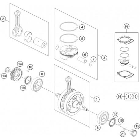 Inside A Piston Engine Inside A Brake Caliper Wiring