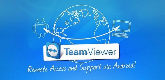 Aplicación Team Viewer para controlar el ordenador desde el teléfono móvil Android