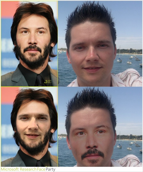 Imagen Face Swap