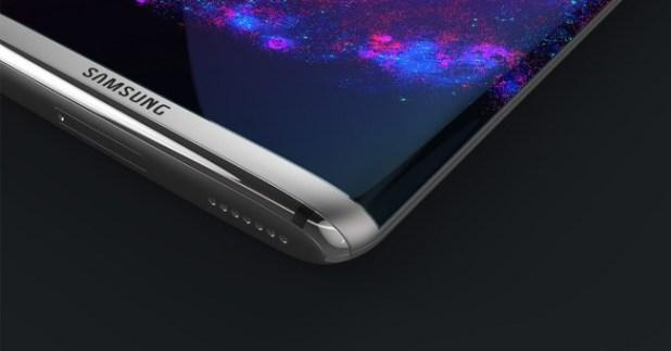 Concepto de diseño del Samsung Galaxy S8