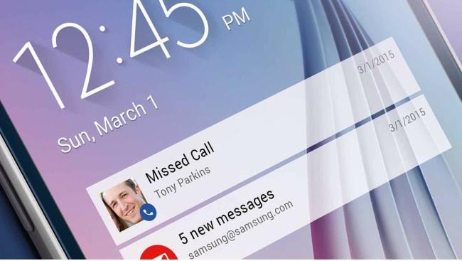 Smart alert Samsumg Galaxy S7
