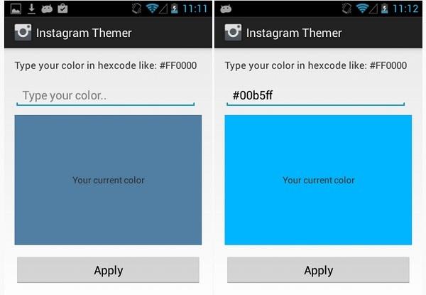 personalizar temas instagram