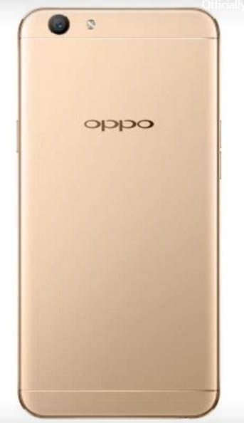 oppo a59 trasera