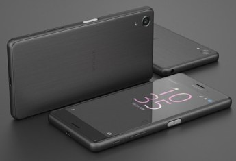 Sony Xperia X con carcasa de color negro