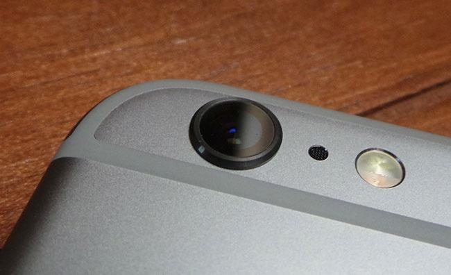 Cámara del iPhone 6s Plus