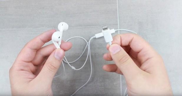EarPods con conexión Lightning para el iPhone 7