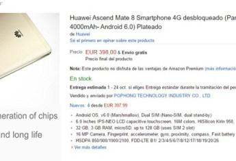 Huawei Mate 8 en Amazon