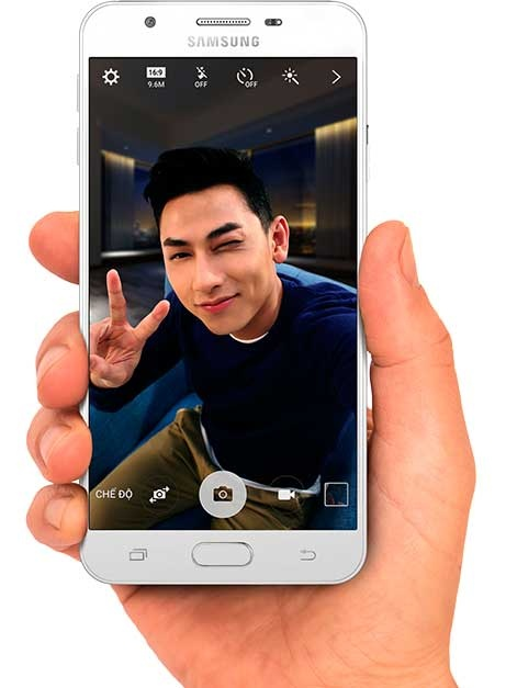 Samsung Galaxy J7 Prime selfie
