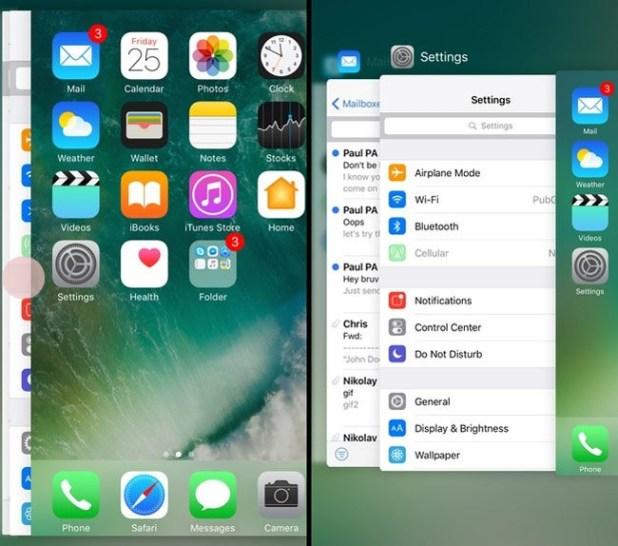Gestión de la multitarea en iOS con 3D Touch