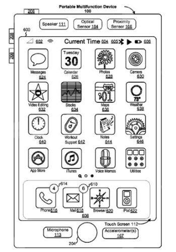 Interfaz del stylus en el iPhone 8
