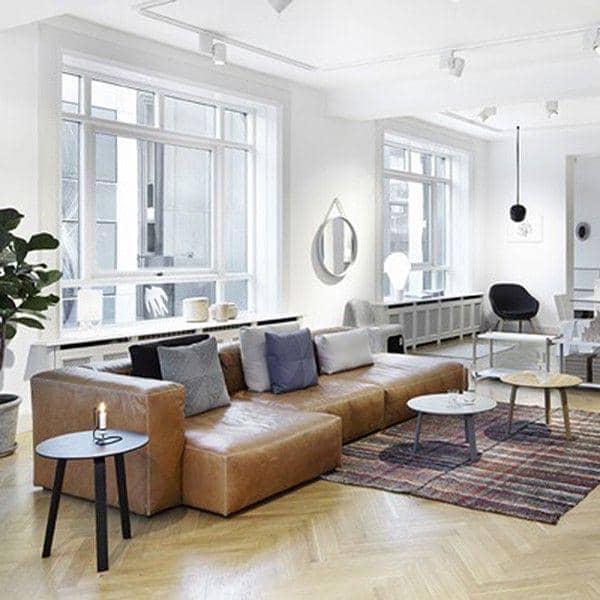 Sofa MAGS SOFT En Cuir HAY