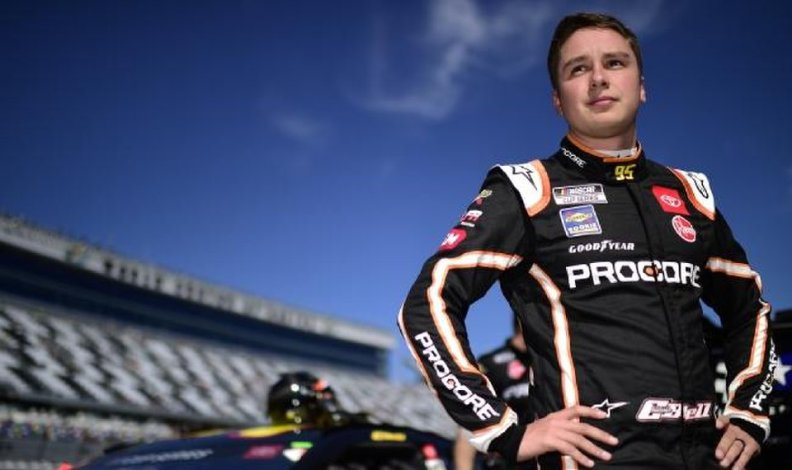 Norman native and NASCAR Cup Series rookie Christopher Bell has finished 12th or better in seven of the past 12 races. [Jared C. Tilton/Getty Images via NASCAR]