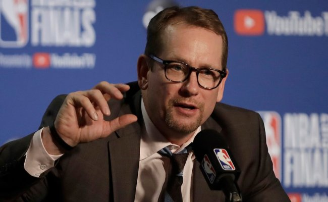 Analysis Raptors Coach Nick Nurse Making The Right Moves